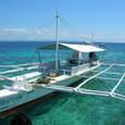 無人島への移動用の船